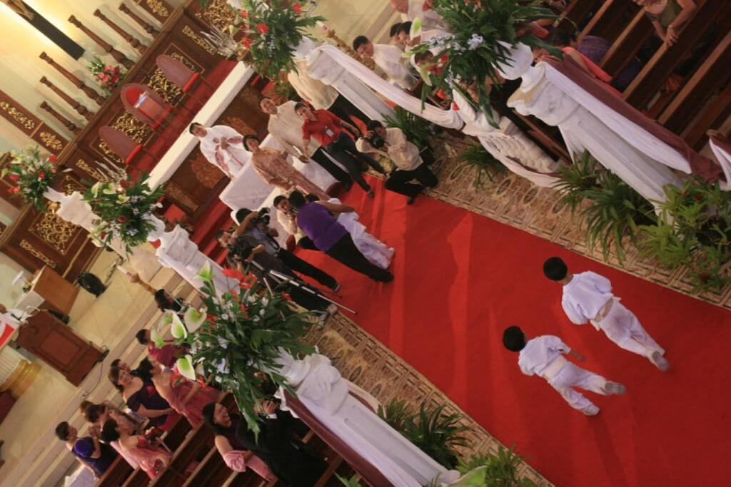 ring bearers, bible bearers