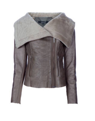 Muubaa Bronsoncow Leather Jacket layer