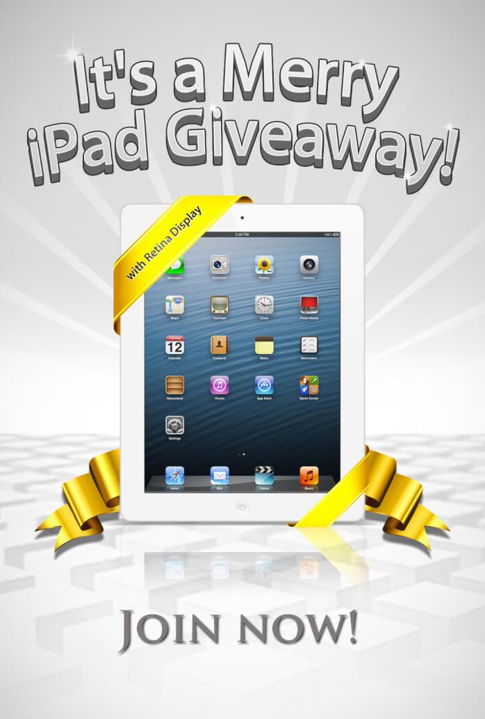 iPad Giveaway Unlock Code