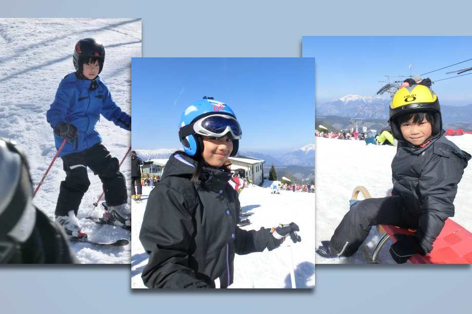 Fun Outdoor Things to Do in Winter, On Normal Circumstances, kids skiing
