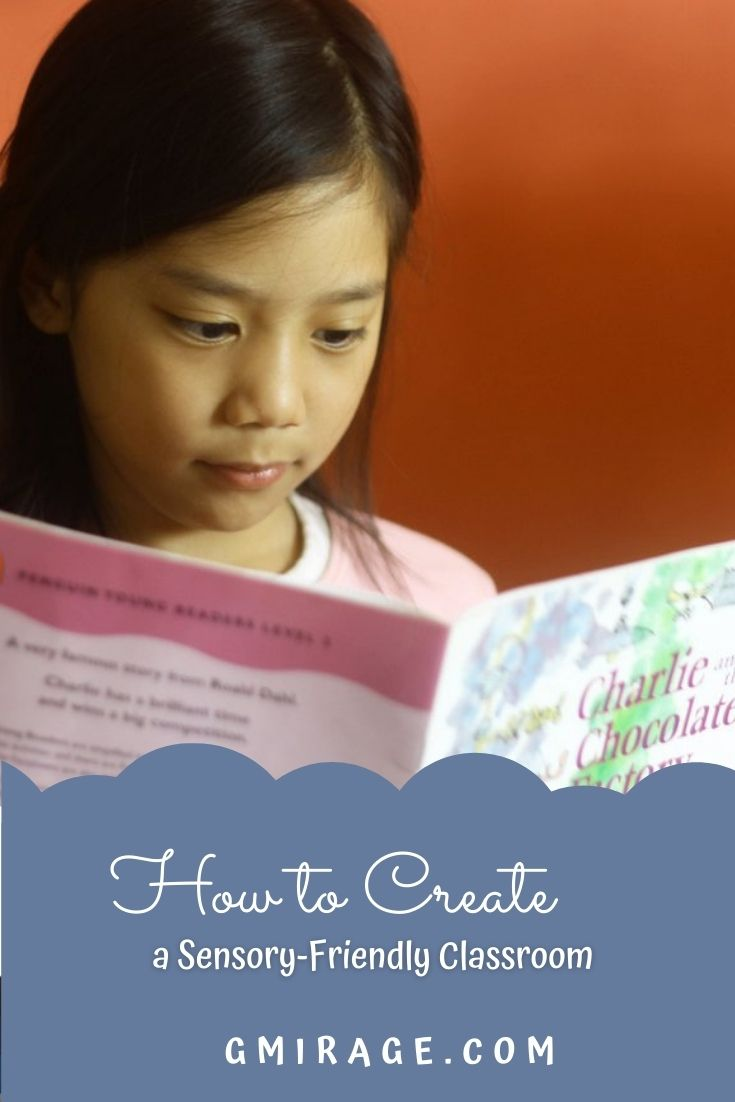 13 Best Ways on How to Create a Sensory-Friendly Classroom, book kid